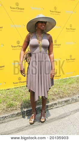 NEW YORK - JUNE 27: Singer Mary J. Blige attends the 3rd annual Veuve Clicquot Polo Classic at Governor's Island on June 27, 2010 in New York City.