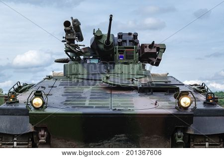 INFANTRY FIGHTING VEHICLE - Portrait of a crawler vehicle