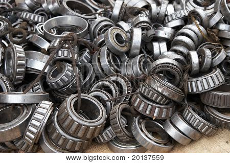 Bearings for sale on a market
