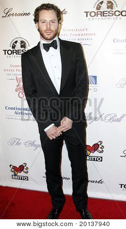 NEW YORK - OCTOBER 21: Sean Parker attends Angel Ball 2010,hosted by Gabrielle's Angel Foundation for Cancer Research at Cipriani's on October 21, 2010 in New York City.