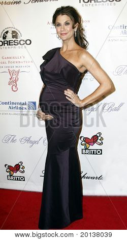 NEW YORK - OCTOBER 21: Samantha Harris attends Angel Ball 2010,hosted by Gabrielle's Angel Foundation for Cancer Research at Cipriani's on October 21, 2010 in New York City.