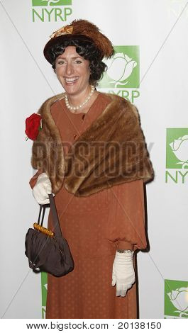 NEW YORK - OCTOBER 29: Comedienne Judy Gold attends the 15th Annual Bette Midler's New York Restoration Project's Hulaween at the Waldorf-Astoria Hotel on October 29, 2010 in New York City.