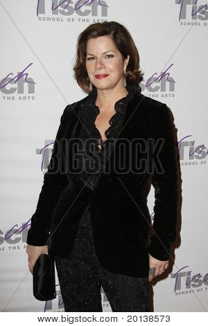 NEW YORK - DECEMBER 6: Actress Marcia Gay Harden attends The Face of Tisch Gala at Frederick P. Rose Hall, home of Jazz at Lincoln Center on December 6, 2010 in New York City.