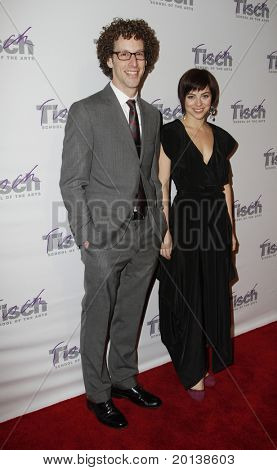 NEW YORK - DECEMBER 6: Actor Noah Weisberg and Krysta Rodriguez attend the Face of Tisch gala at the Frederick P. Rose Hall at Lincoln Center on December 6, 2010 in New York City.