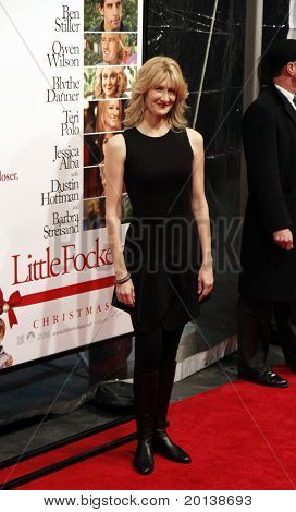"""NEW YORK - DECEMBER 15: Laura Dern attends the world premiere of """"Little Fockers"""" at the Ziegfeld Theatre on December 15, 2010 in New York City."""