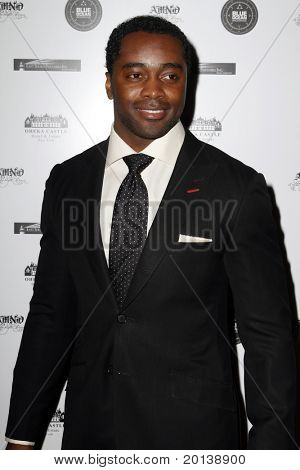HUNTINGTON, NY - JANUARY 6: New York Jets running back Curtis Martin attends the Midwinter Night's Dream fundraiser event  for ALS Research held at Oheka Castle on January 6, 2011 in Huntington, New York.