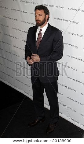 NEW YORK - JAN 11: Ben Affleck attends the 2011 National Board of Review of Motion Pictures Gala at Cipriani's on January 11, 2011 in New York City.