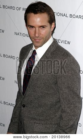 NEW YORK - JAN 11: Alessandro Nivola attends the 2011 National Board of Review of Motion Pictures Gala at Cipriani's on January 11, 2011 in New York City.