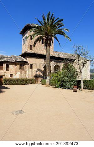 Partal Palace, Palacio De Partal, In Alhambra, Granada, Andalusia