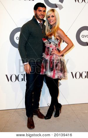 NEW YORK - FEBRUARY 11: Tinsley Mortimer and Brian Mazza attend the QVC 25 to watch party at 229 West 43rd Street on February 11, 2011 in New York City.