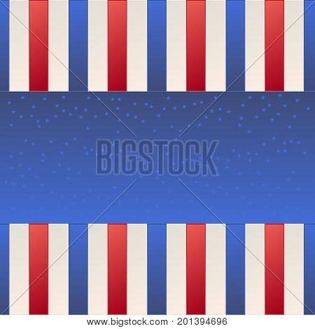 Usa background with star texture vector illustation.