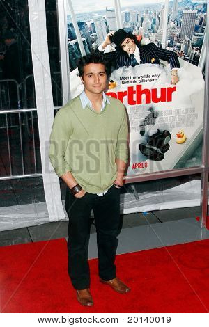 NEW YORK, NY - APRIL 5: Rahul Rai attends the New York premiere of 'Arthur' at the Ziegfeld Theatre on April 5, 2011 in New York City.