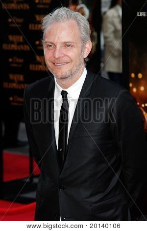 """NEW YORK - APRIL 17:  Director Francis Lawrence attends the """"Water for Elephants"""" premiere at the Ziegfeld Theatre on April 17, 2011 in New York City."""