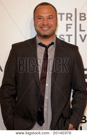 """NEW YORK - APRIL 20: Ahmed Ahmed attends the opening night premiere of """"The Union"""" at 2011 TriBeCa Film Festival at North Cove at World Financial Center Plaza on  April 20, 2011 in New York City."""