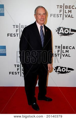 NEW YORK - APRIL 20: Mayor Michael Bloomberg attends the opening night premiere of