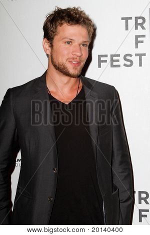 """NEW YORK - APRIL 21: Ryan Phillippe attends the 2011 TriBeCa Film Festival premiere of """"The Bang Bang Club"""" at the BMCC TriBeCa PAC on April 21, 2011 in New York City."""