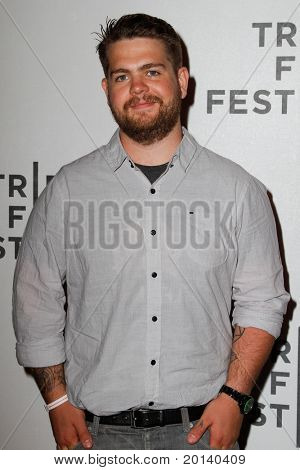 "NEW YORK - APRIL 21: Jack Osbourne attends the 2011 TriBeCa Film Festival premiere of ""The Bang Bang Club"" at the BMCC TriBeCa PAC on April 21, 2011 in New York City."