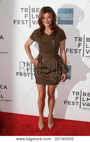 """NEW YORK - APRIL 22: Kate Walsh attends the 2011 TriBeCa Film Festival premiere of """"Angel's Crest"""" at the BMCC TriBeCa PAC on April 22, 2011 in New York City."""