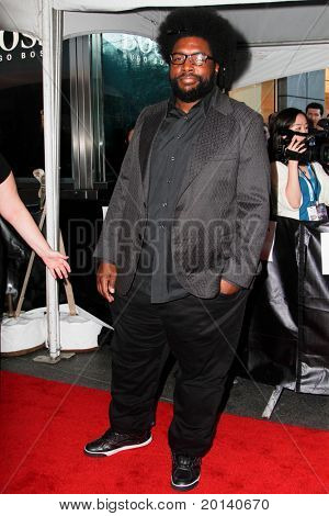 NEW YORK - APRIL 26: Questlove from The Roots attends the Time 100 Gala for the 100 Most Influential People in the World at the Time Warner Center on April 26, 2011 in New York City.
