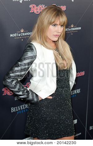 HOLLYWOOD, CA. - NOV 21: Grace Potter arrives at the 2010 American Music Awards Rolling Stone Magazine VIP After Party at Rolling Stone Restaurant and Lounge on November 21, 2010 in Hollywood, Ca.