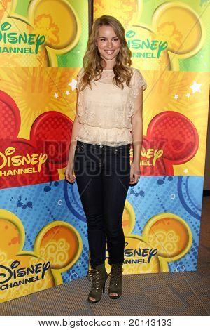 LOS ANGELES - MAY 14:  Bridgit Mendler at the Disney ABC Television Group May Press Junket 2011 at ABC Building on May 14, 2011 in Burbank, CA