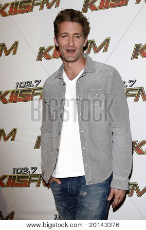 LOS ANGELES - MAY 14:  Matthew Morrison at the KIISFM 2011 Wango Tango Event at Staples Center on May 14, 2011 in Los Angeles, CA