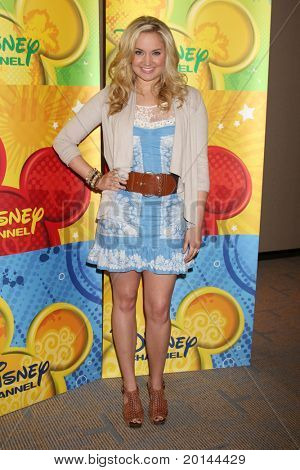 LOS ANGELES - MAY 14:  Tiffany Thornton at the Disney ABC Television Group May Press Junket 2011 at ABC Building on May 14, 2011 in Burbank, CA