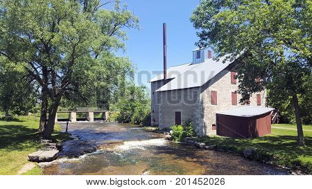 Babcock Mill On The River In Odessa Ontario Canada