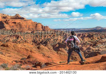 Explore The Wave, Amazing Sandstone In Arizona