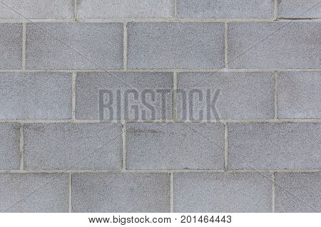 Clean and straight cinder block wall background texture