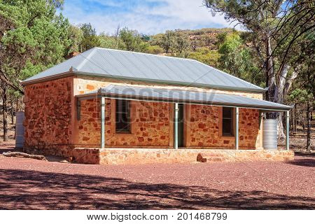 Old Hills Homestead in the Flinders Ranges - Wilpena Pound, SA, Australia, 11 February 2013