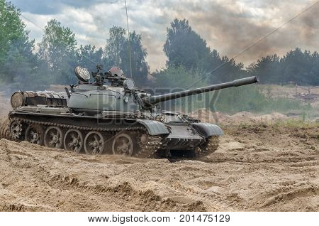 TANK WARSAW PACT - Old military vehicles