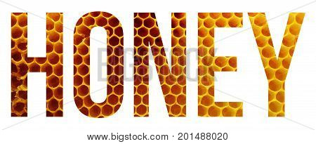 a honey sample text banner with copyspace