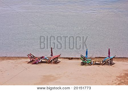 Beach Of River