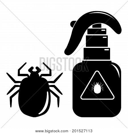 Spray icon. Simple illustration of spray vector icon for web