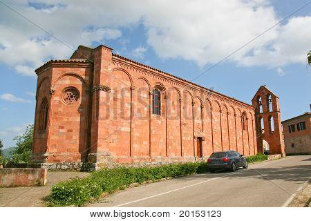 Romanesque Church Of San Pietro In Zuri