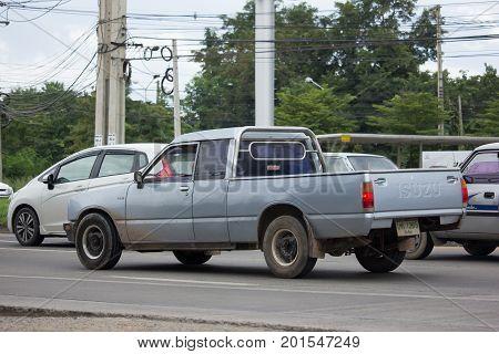 Private Isuzu Faster Kb Old Pickup Car.