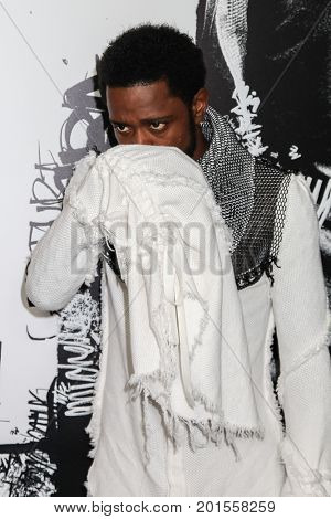 NEW YORK, NY - AUGUST 17: Actor Lakeith Stanfield attends the 'Death Note' New York premiere at AMC Loews Lincoln Square 13 theater on August 17, 2017 in New York City.