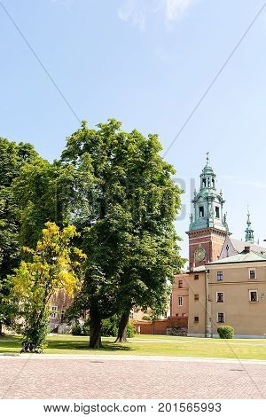 Sigismund`s Chapel at Wawel Castle (Krakow, Poland)