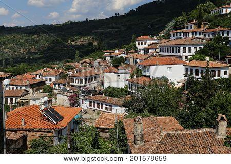 Sirince Village In Izmir, Turkey