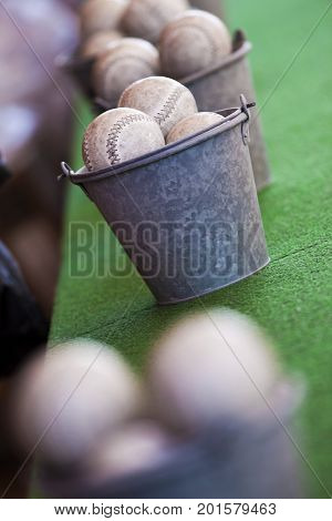 Skill Game In A Fairground Stall