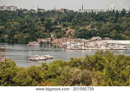 Dnieper rapids the famous island of Fame Cossacks and Zaporozhye sech.