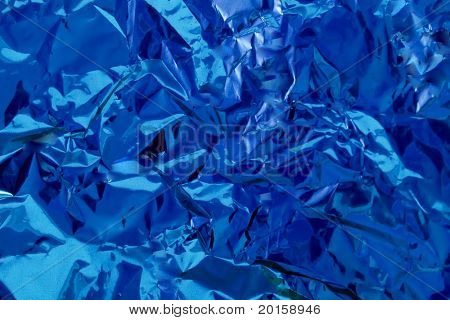 blue background crumple