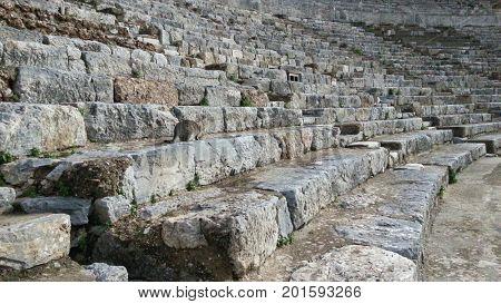 Odeion of Ephesus in Ephesus Ancient City Izmir Turkey