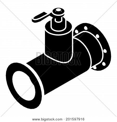 Pipe water icon. Simple illustration of pipe water vector icon for web