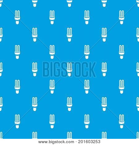 Fluorescence lamp pattern repeat seamless in blue color for any design. Vector geometric illustration