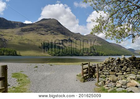 Shores of Buttermere in the English Lake District
