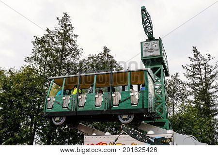 Cranky Crane At Thomas Land Theme Park