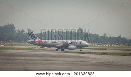Airplane Docking At Tan Son Nhat Airport