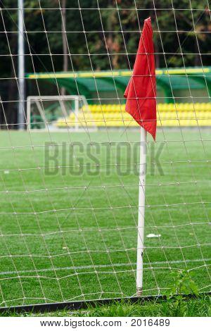 Flag On The Football Ground
